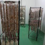 Sausage hanging